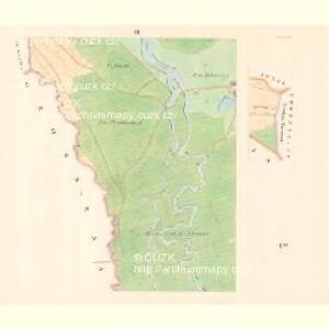 Lesche (Lestina) - m1504-1-003 - Kaiserpflichtexemplar der Landkarten des stabilen Katasters