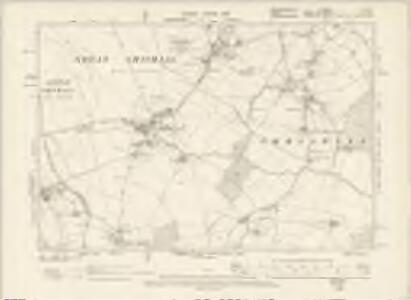 Hertfordshire V.SE - OS Six-Inch Map