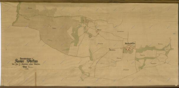 Přehledná mapa revíru Nahý Újezdec
