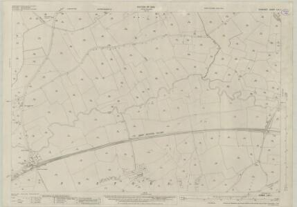 Somerset LXV.1 (includes: Ansford; Bruton; Ditcheat; Lamyat; Pitcombe) - 25 Inch Map