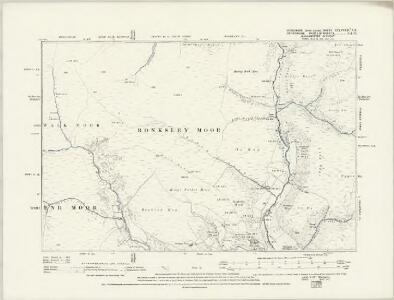 Yorkshire CCLXXXVIA.SE - OS Six-Inch Map