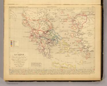 La Grece et partie de l'Asie Mineure, av. J.C. 1190.
