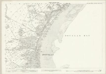 Isle of Man XIII.8 - 25 Inch Map