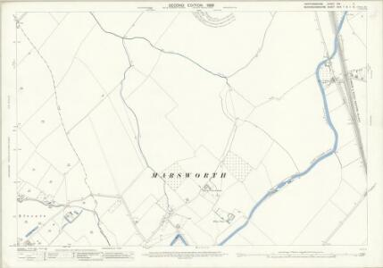 Hertfordshire XXV.2 (includes: Cheddington; Marsworth; Pitstone; Tring Rural) - 25 Inch Map