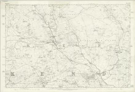 Westmorland XXXIII - OS Six-Inch Map