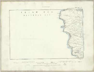 Wiltshire LXXV - OS Six-Inch Map