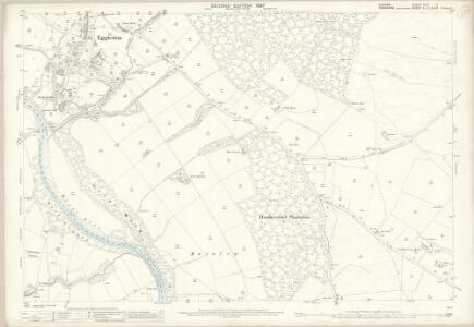 Durham XLVI.2 (includes: Eggleston; Marwood; Romaldkirk) - 25 Inch Map