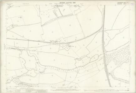 Oxfordshire XLV.7 (includes: Abingdon; Culham; Nuneham Courtenay; Radley) - 25 Inch Map