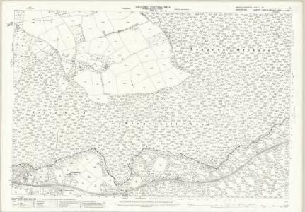 Worcestershire VII.15 (includes: Kinlet; Rock) - 25 Inch Map