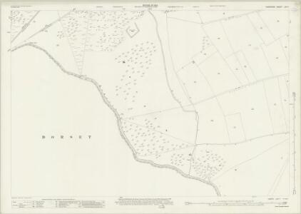 Hampshire and Isle of Wight LIVA.7 (includes: Martin; Pentridge) - 25 Inch Map