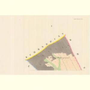 Unter Ullischen (Dolnj Olessne) - m0515-1-001 - Kaiserpflichtexemplar der Landkarten des stabilen Katasters