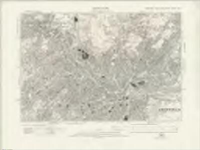 Yorkshire CCXCIV.NE - OS Six-Inch Map