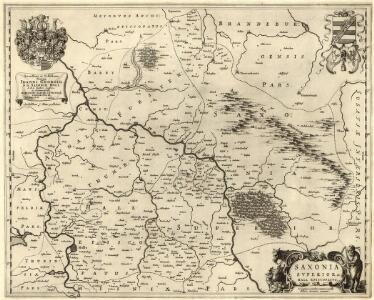 Saxonia Svperior & Hall Episcopatvs