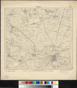 Meßtischblatt 3598 : Hagenau (Im Elsass), 1884
