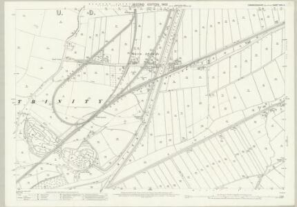 Cambridgeshire XXVI.11 (includes: Ely Holy Trinity With St Mary) - 25 Inch Map