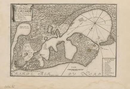 Plan des Villes; Forts, Port, Rade et environs de Cartagene