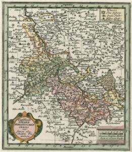 Teutschlands Nieder Rheinischer Creiss mit seinen abgetheilten Provintzen