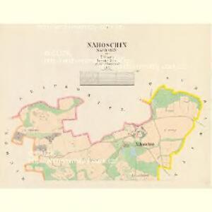 Nahoschin (Nahossin) - c4948-1-001 - Kaiserpflichtexemplar der Landkarten des stabilen Katasters