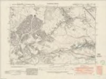 Yorkshire CCXCV.SW - OS Six-Inch Map