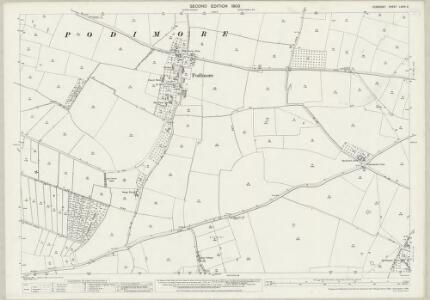 Somerset LXXIV.9 (includes: West Camel; Yeovilton) - 25 Inch Map
