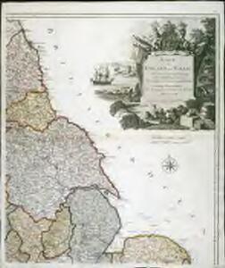 Karte von England und Wallis, 2