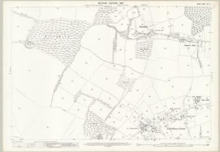 Essex (1st Ed/Rev 1862-96) VIII.3 (includes: Elmdon; Littlebury; Strethall) - 25 Inch Map