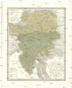 Charte von dem Königreiche Illyrien und dem Herzogthume Steyermark