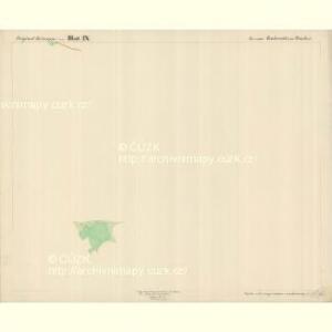 Buchwald - c0626-1-014 - Kaiserpflichtexemplar der Landkarten des stabilen Katasters