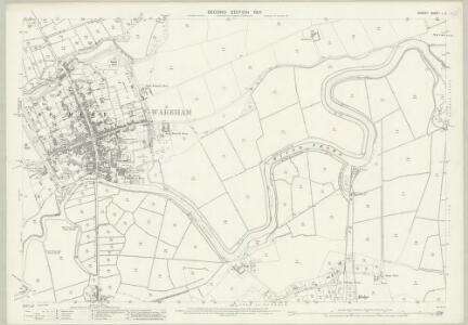 Dorset L.5 (includes: Arne; Wareham Lady St Mary; Wareham St Martin) - 25 Inch Map
