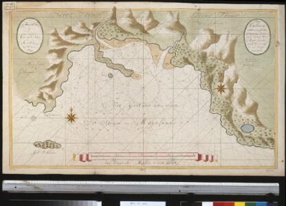 Port Galland of Haven van Gallan geleegen int midde van de Straet van Magelanus aen de Noordwal