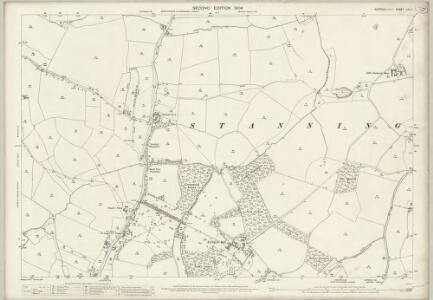 Suffolk LIV.11 (includes: Hawstead; Lawshall; Stanningfield) - 25 Inch Map