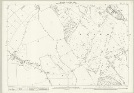 Essex (1st Ed/Rev 1862-96) XXIII.11 (includes: Broxted; Little Canfield; Little Easton; Takeley) - 25 Inch Map