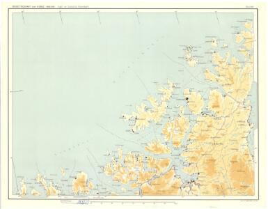 Statistikk 38-14: Bosettingskart over Finnmark og Troms. Blad 14