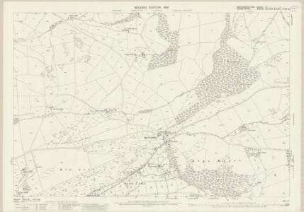 Montgomeryshire X.1 (includes: Llanfechain; Llanrhaeadr Ym Mochnant) - 25 Inch Map