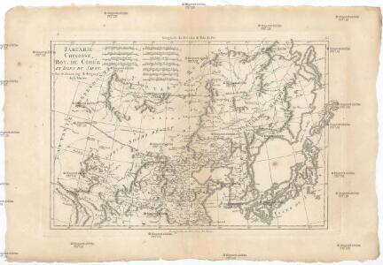 Tartarie, Chinoise, roy de Corée et isles du Japon