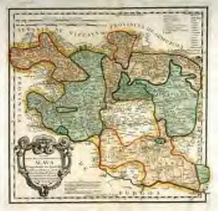 Mapa del m. n. y m. l. provincia de Alava