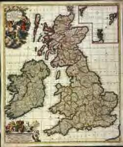 Novissima præ cæteris aliis accuratissima regnorum Angliæ, Scotiæ Hiberniæq[ue] tabula