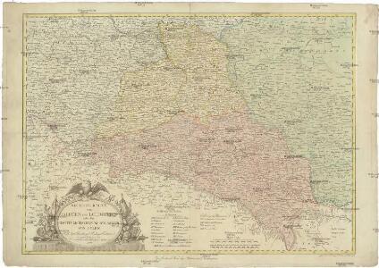 Neueste Karte von Galizien und Lodomerien nebs dem oesterreichischen neuen Antheil von Polen