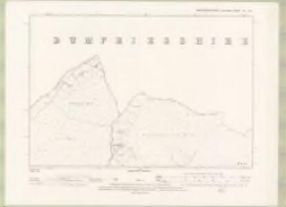 Kirkcudbrightshire Sheet XX.NW - OS 6 Inch map
