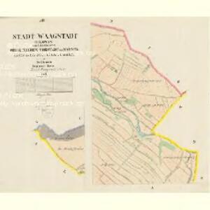 Waagstadt (Bilowes) - m0086-1-005 - Kaiserpflichtexemplar der Landkarten des stabilen Katasters