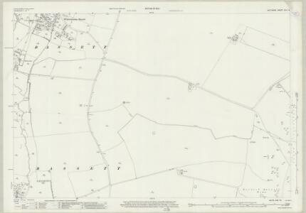 Wiltshire XXII.14 (includes: Berwick Bassett; Winterbourne Bassett) - 25 Inch Map