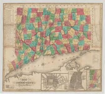 Map of Connecticut : from actual survey