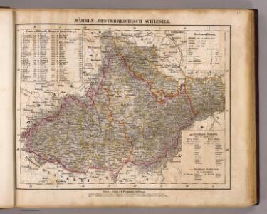 Mahren, Oesterreichisch Schlesien.