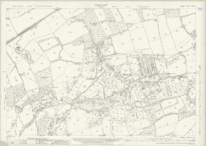 Surrey XXXIII.2 (includes: Holmwood; Milton) - 25 Inch Map