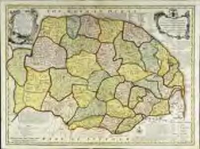 An accurate map of the county of Norfolk