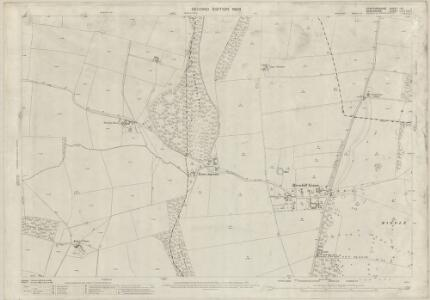Staffordshire LXI.1 (includes: Badger; Beckbury; Boningale; Patshull) - 25 Inch Map