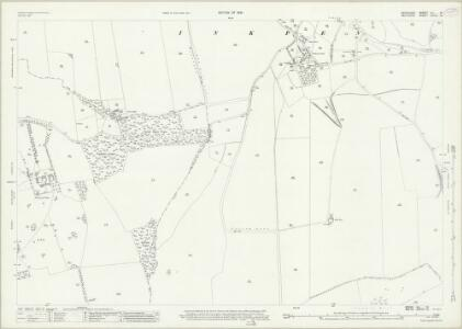 Berkshire XLI.12 (includes: Ham; Inkpen) - 25 Inch Map