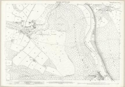 Derbyshire XXXIX.4 (includes: Alderwasley; Crich; Heage) - 25 Inch Map