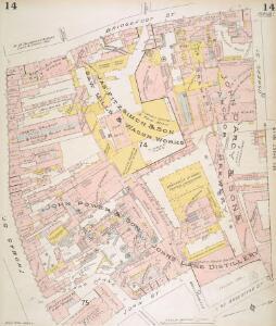 Insurance Plan of the City of Dublin Vol. 1: sheet 14