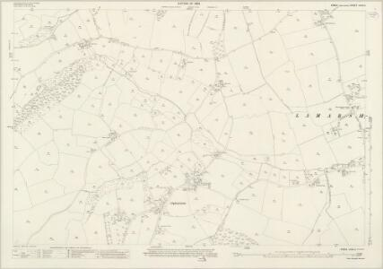 Essex (New Series 1913-) n XVII.6 (includes: Alphamstone; Lamarsh) - 25 Inch Map